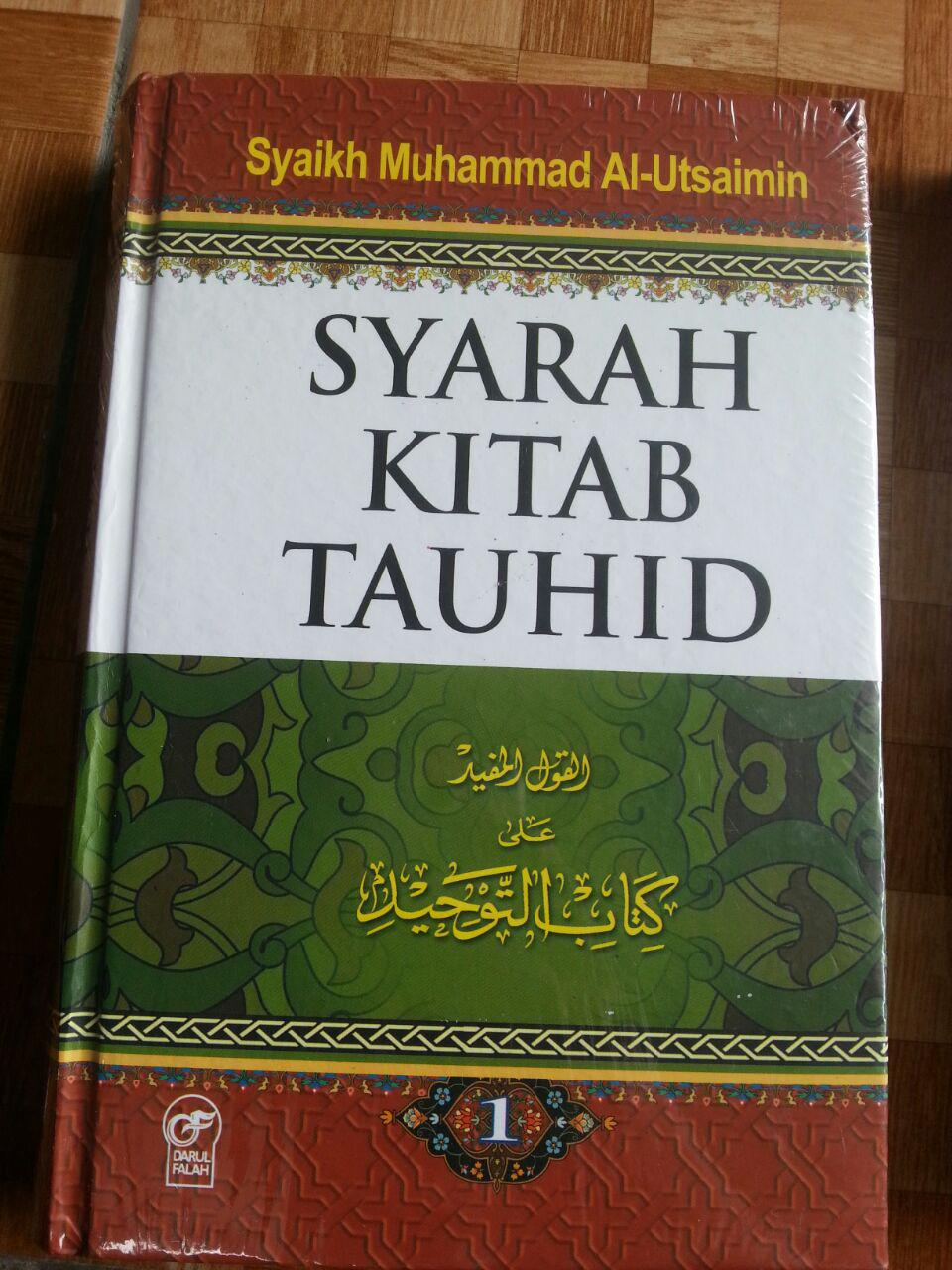 Buku Syarah Kitab Tauhid 1 Set 2 Jilid cover 3