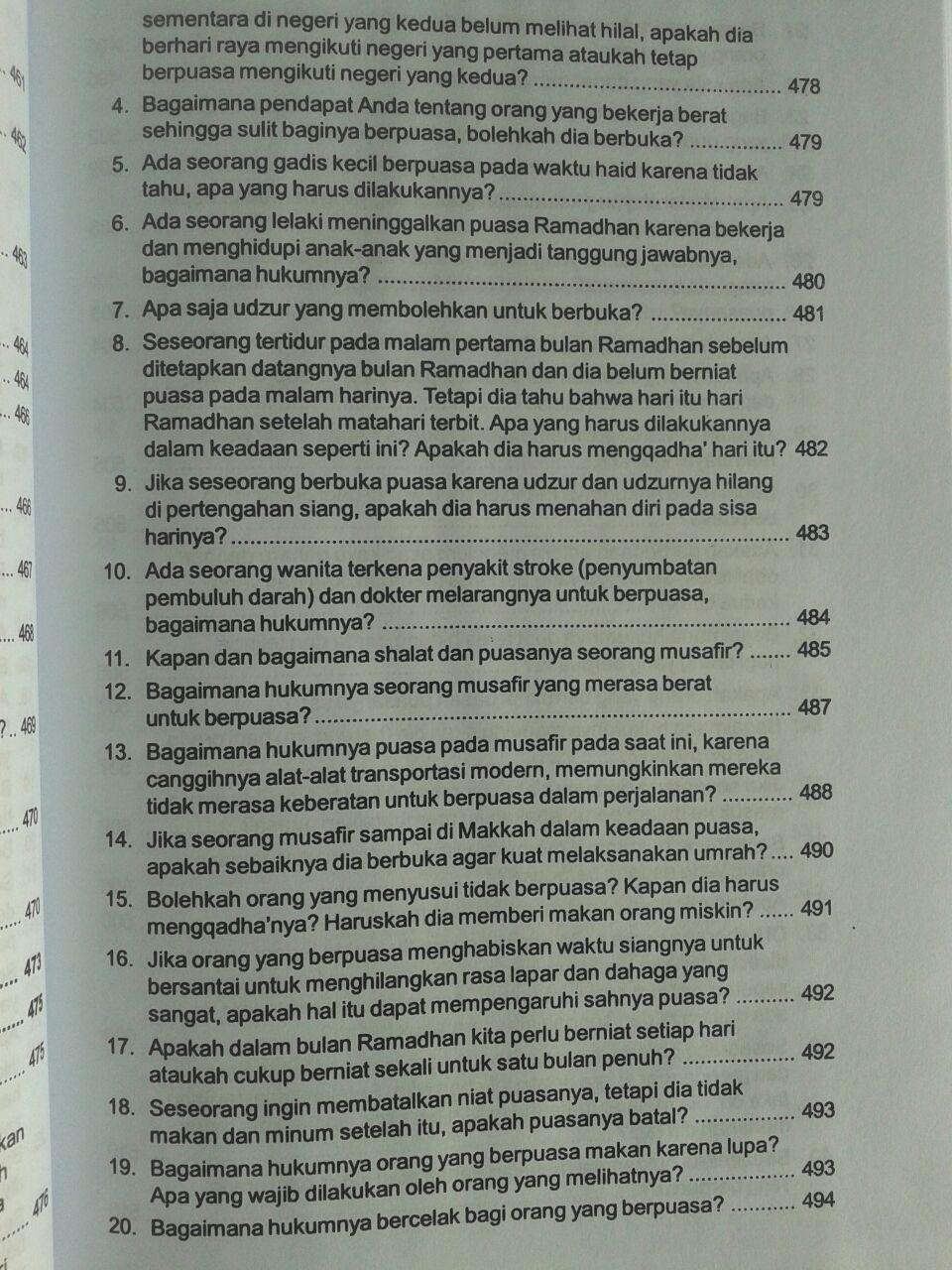 Buku Tuntunan Tanya Jawab Aqidah Shalat Zakat Puasa Dan Haji isi 2