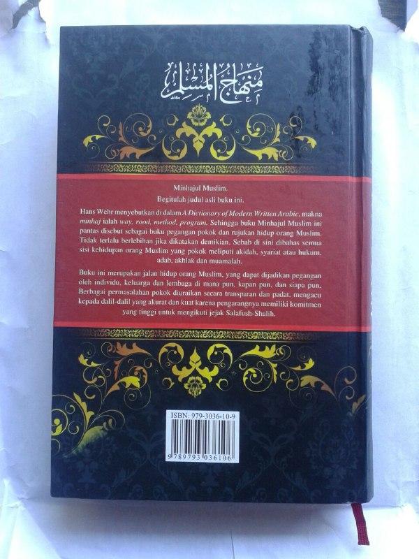 Buku Ensiklopedi Muslim Minhajul Muslim cover 2