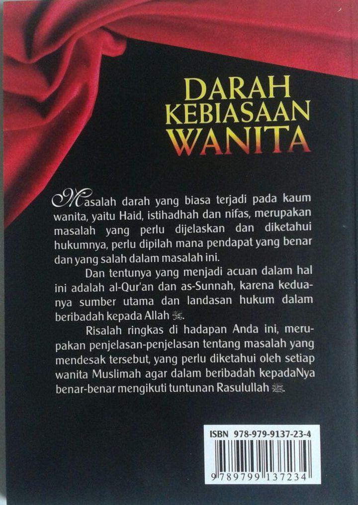 Buku Darah Kebiasaan Wanita cover