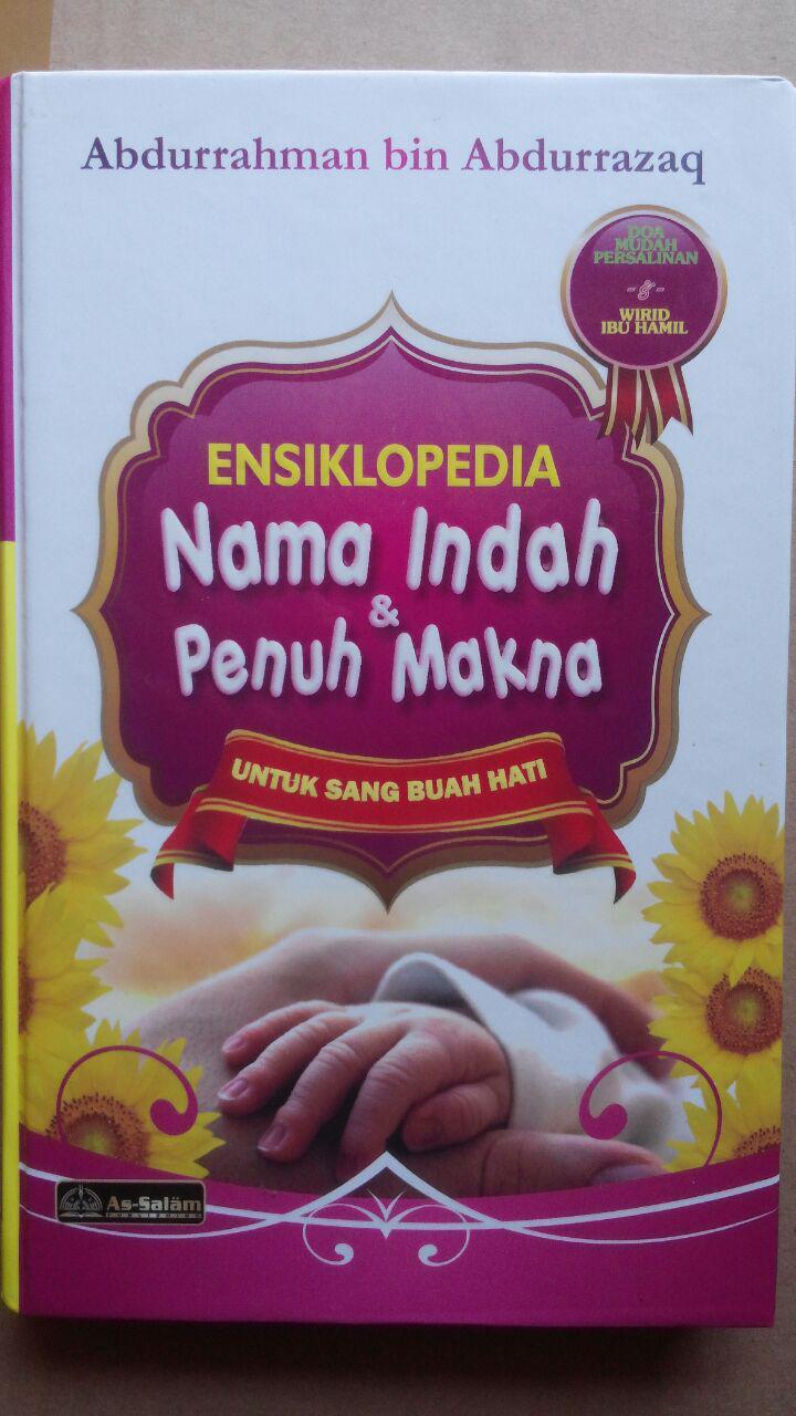 Buku Ensiklopedi Nama Indah Dan Penuh Makna cover