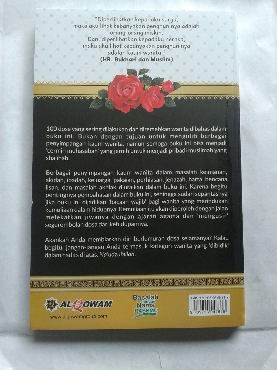 Buku 100 Dosa Yang Diremehkan Wanita cover 2