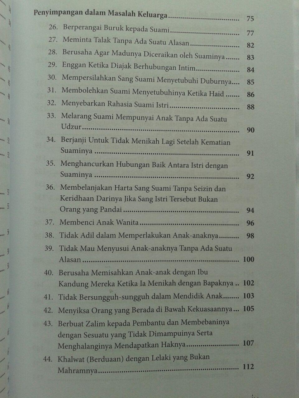Buku 100 Dosa Yang Diremehkan Wanita isi 2