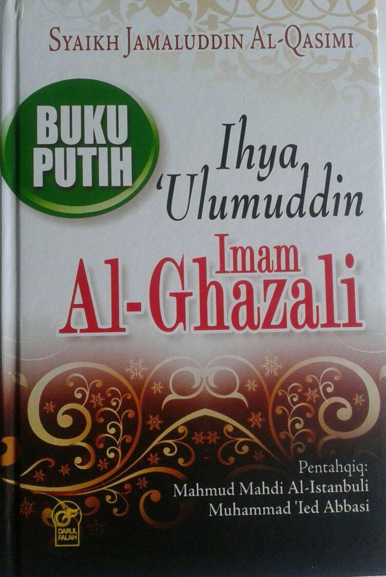 Buku Putih Ihya Ulumuddin Imam Ghazali cover 2