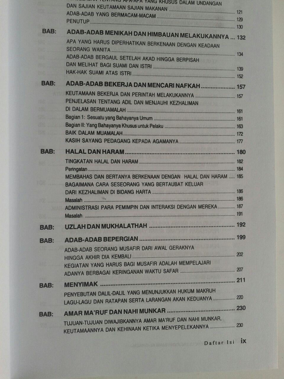 Buku Putih Ihya Ulumuddin Imam Ghazali isi 2