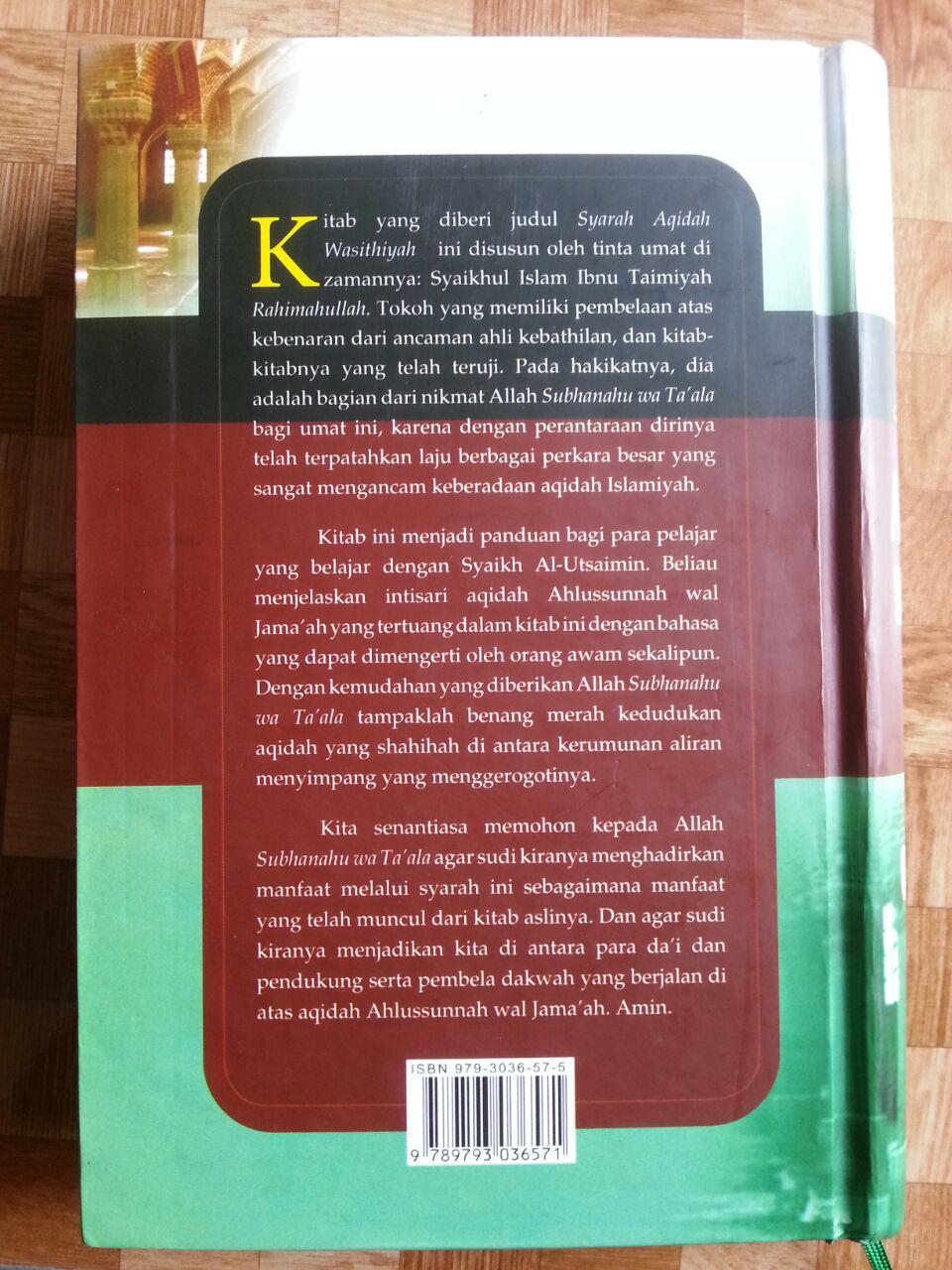 Buku Syarah Aqidah Wasithiyah cover