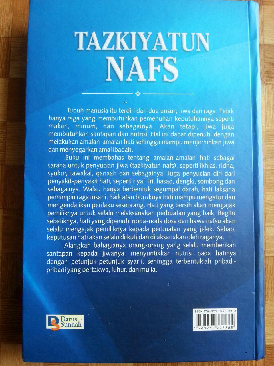 Buku Tazkiyatun Nafs cover