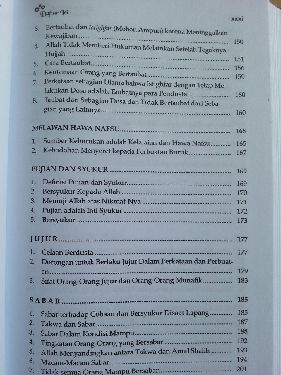 Buku Tazkiyatun Nafs isi