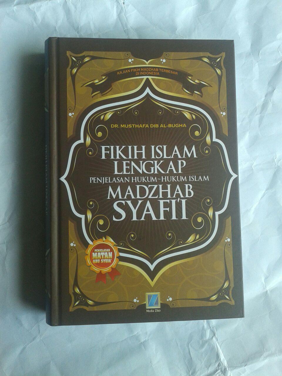 Buku Fikih Islam Lengkap Penjelasan Hukum Hukum Islam Madzhab Syafi'i cover 2
