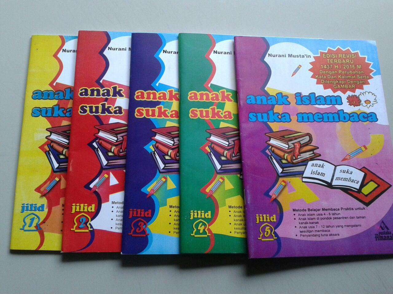Buku Anak Islam Suka Membaca Set 5 Jilid cover 2
