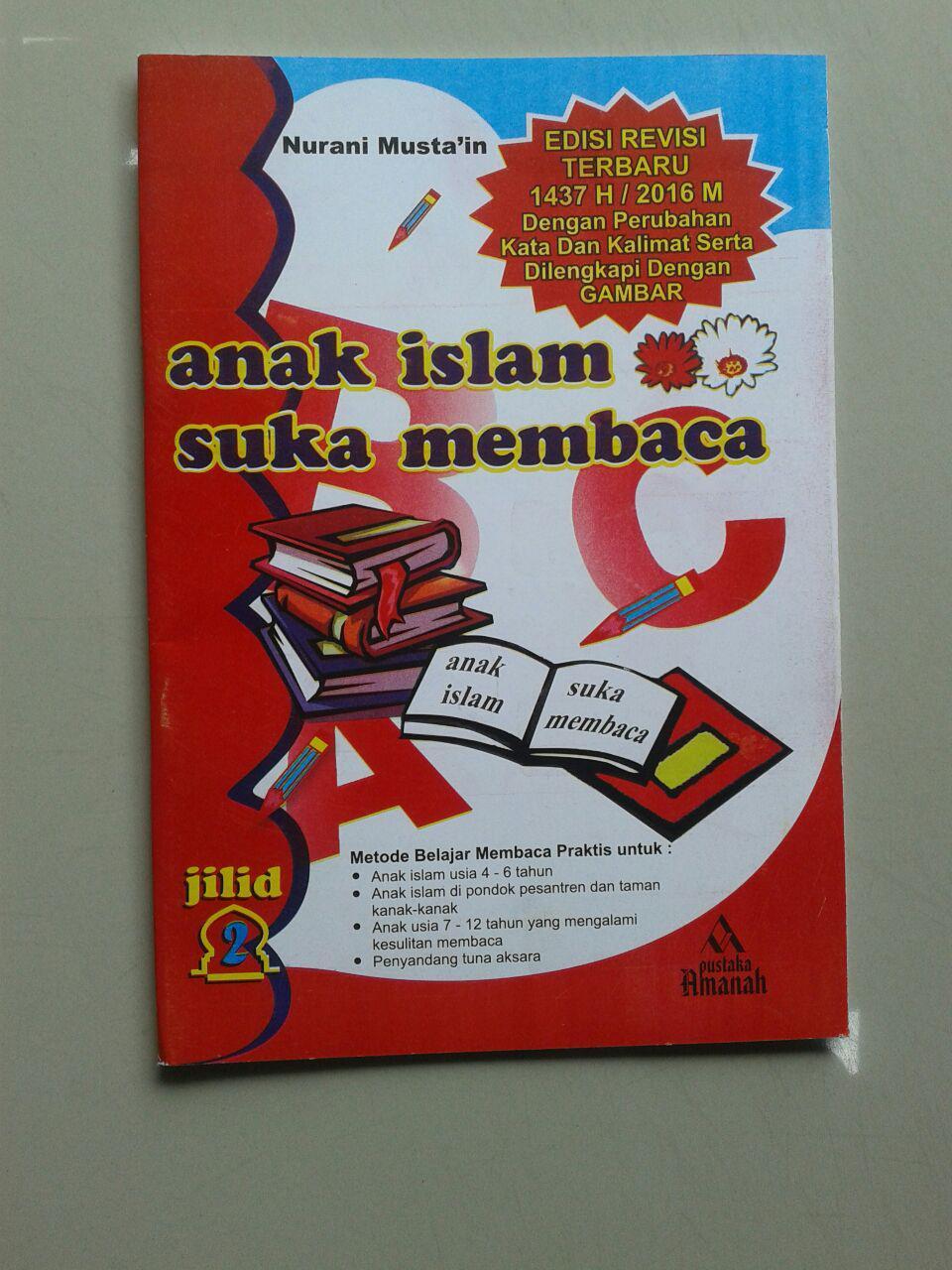 Buku Anak Islam Suka Membaca Set 5 Jilid cover 3