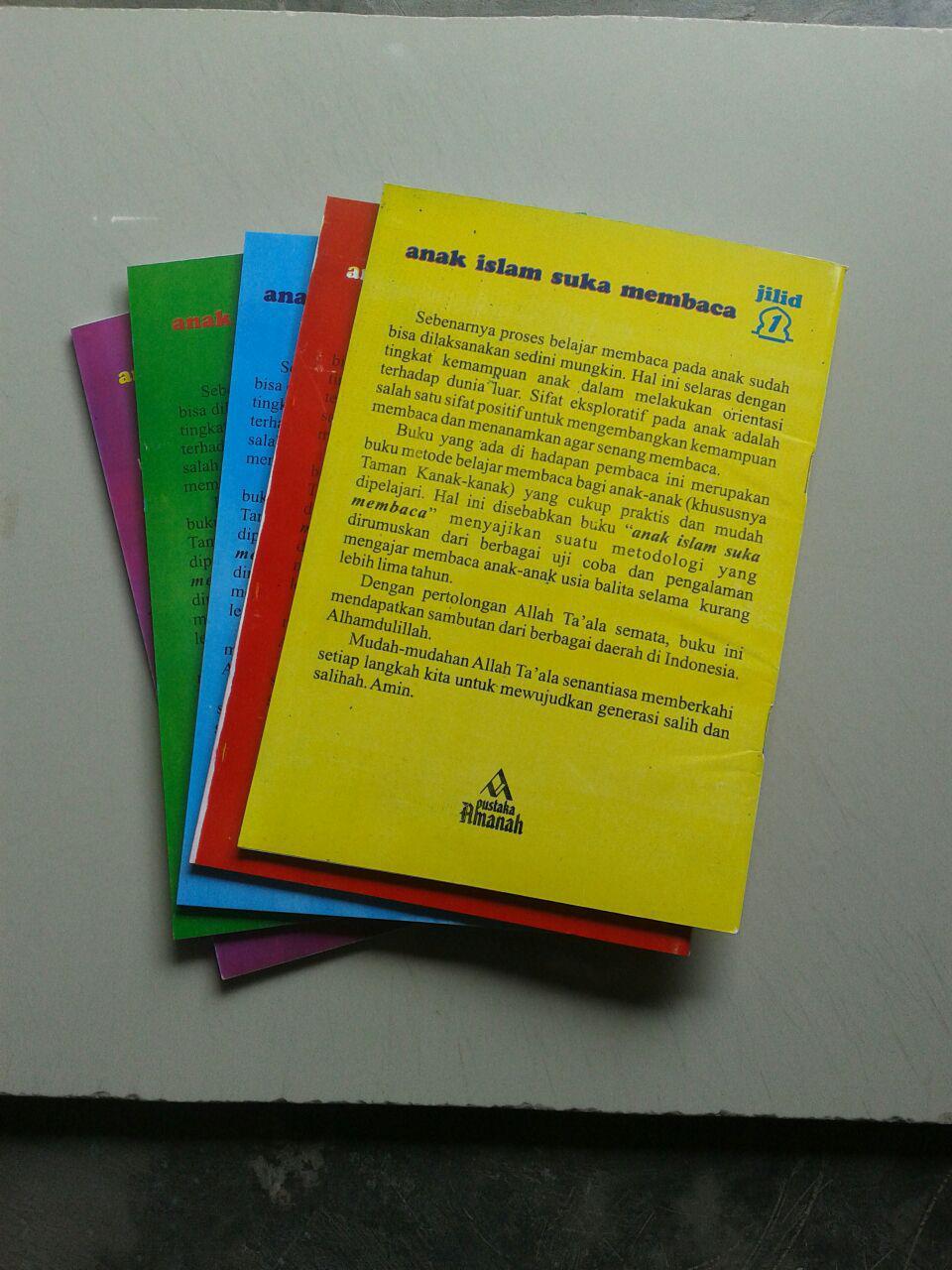 Buku Anak Islam Suka Membaca Set 5 Jilid cover