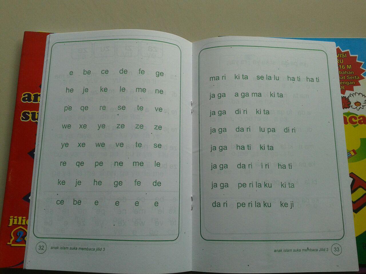 Buku Anak Islam Suka Membaca Set 5 Jilid isi 2