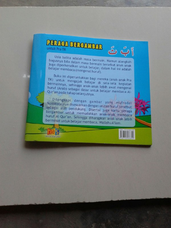 Buku Peraga Bergambar Untuk Pra TK (A Ba Ta) cover