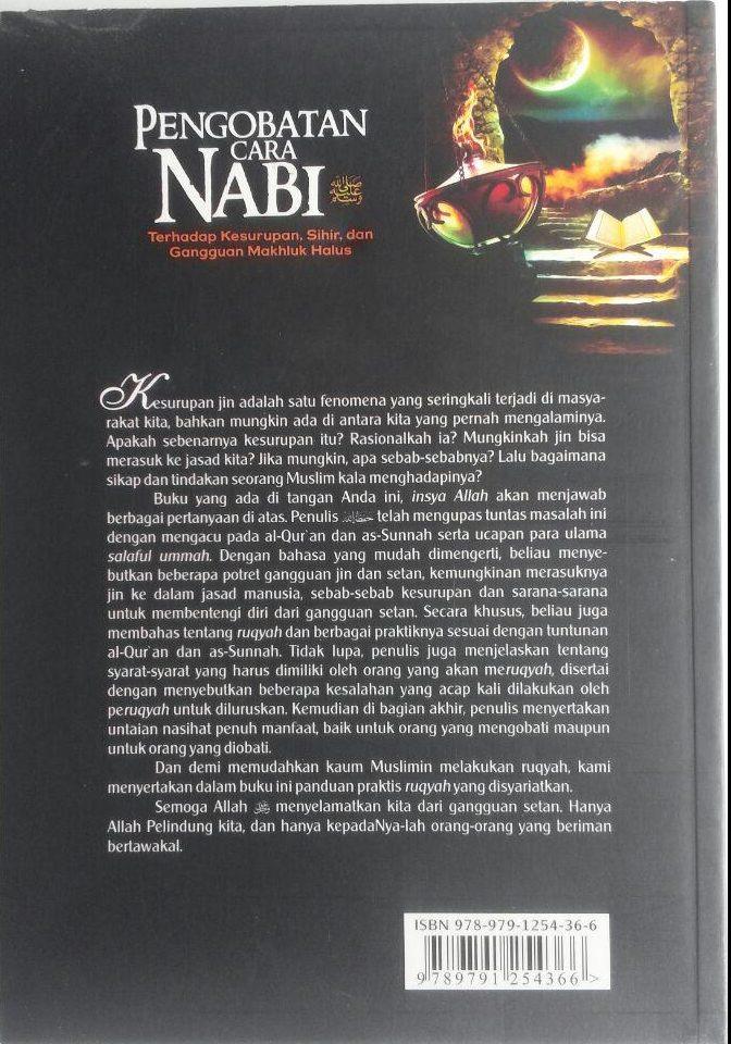 BK459 Buku Pengobatan Cara Nabi Terhadap Kesurupan, Sihir, dan Gangguan Makhluk Halus cover