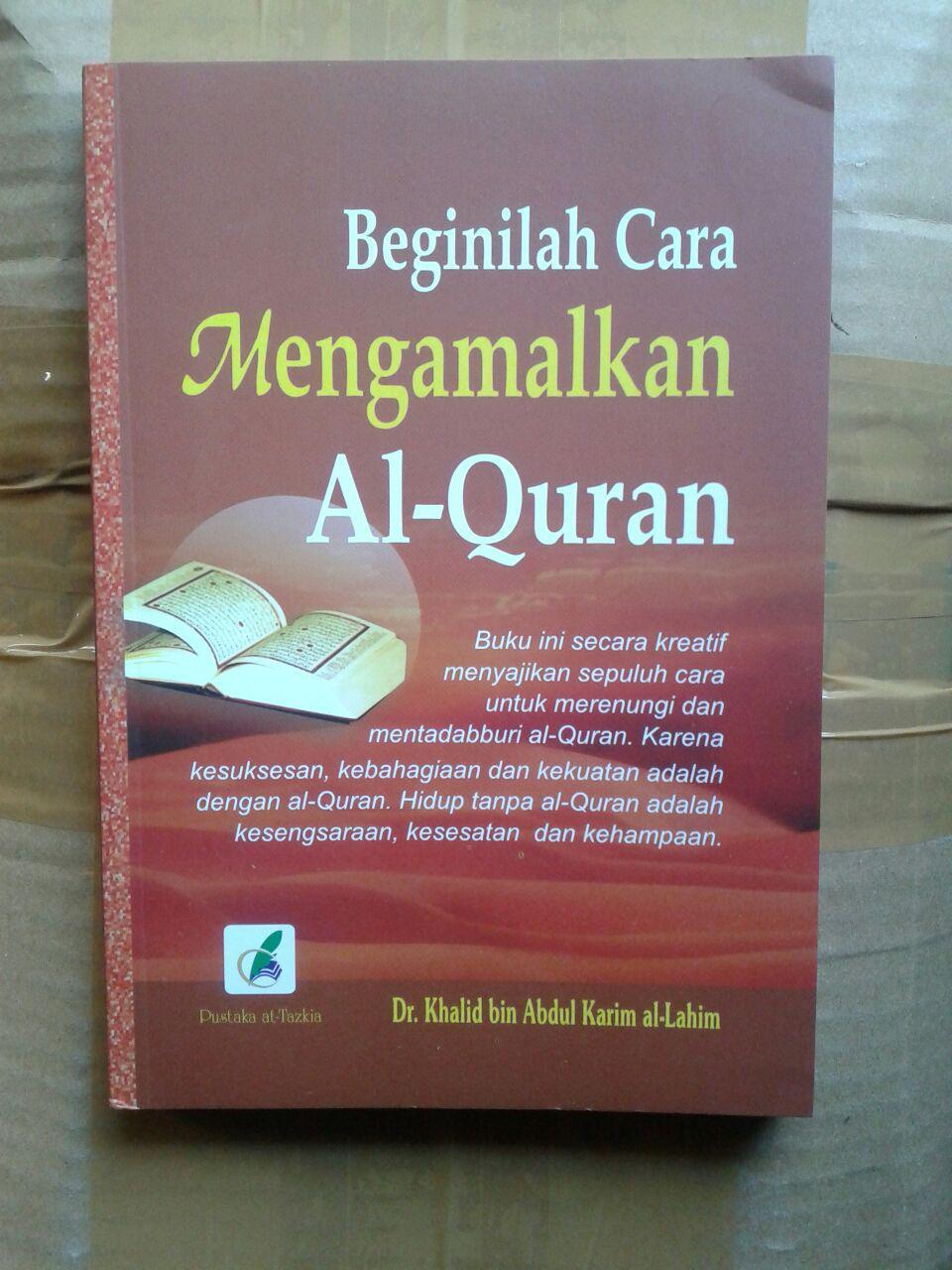 Buku Beginilah Cara Mengamalkan al-Quran cover