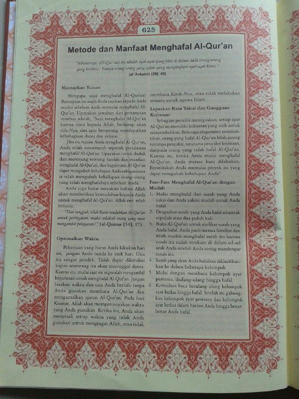 Al Quran Tafsir Perkata Al-Hidayah Ukuran A4 isi 2