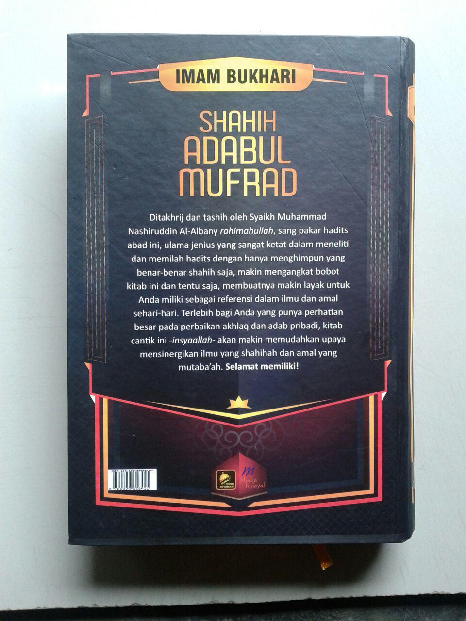 Buku Shahih Adabul Mufrad cover