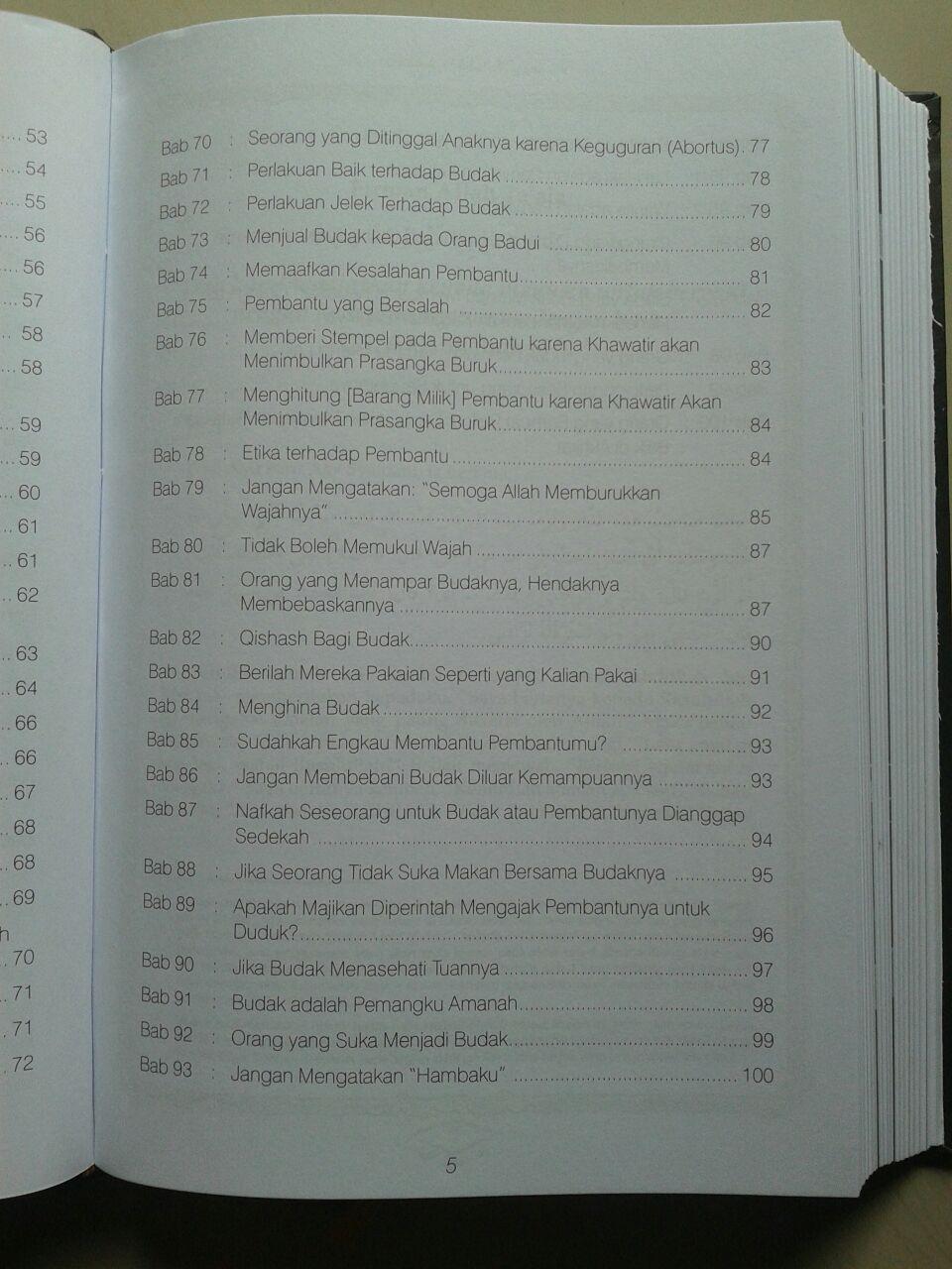 Buku Shahih Adabul Mufrad isi