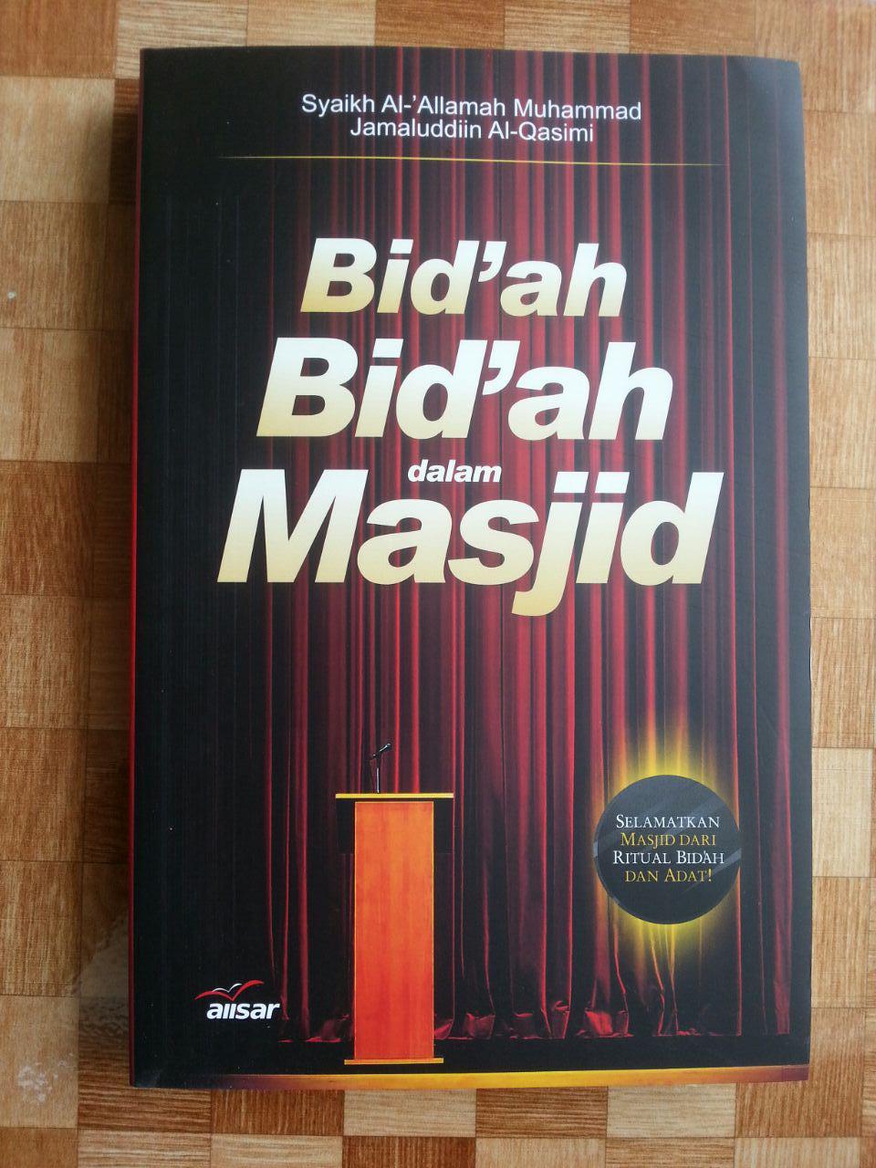 Buku Bidah-bidah dalam Masjid cover 2