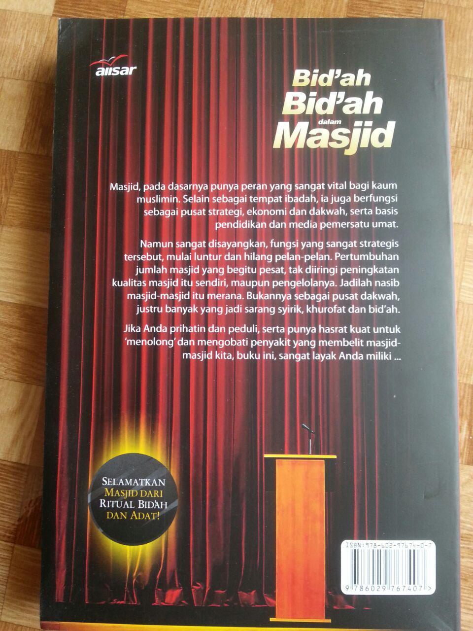 Buku Bidah-bidah dalam Masjid cover