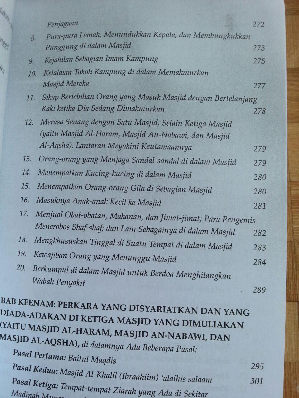 Buku Bidah-bidah dalam Masjid isi 2