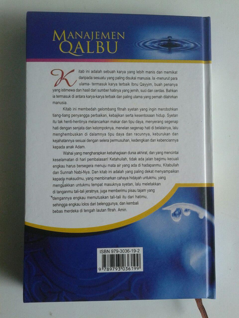 Buku Manajemen Qalbu cover