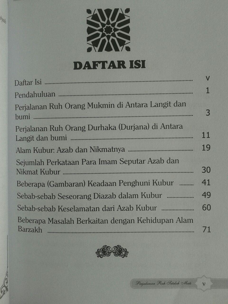 Buku Perjalanan Ruh Setelah Mati isi 3