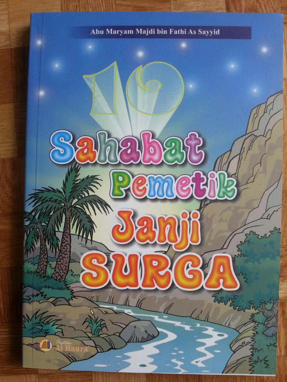 Buku 10 Sahabat Pemetik Janji Surga cover 2