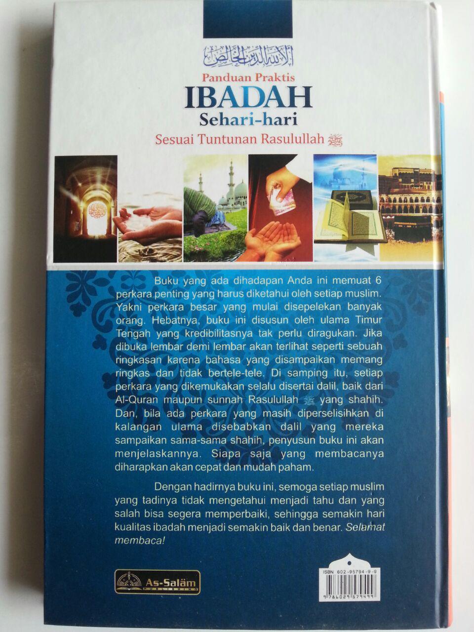 Buku Panduan Praktis Ibadah Sehari-Hari cover