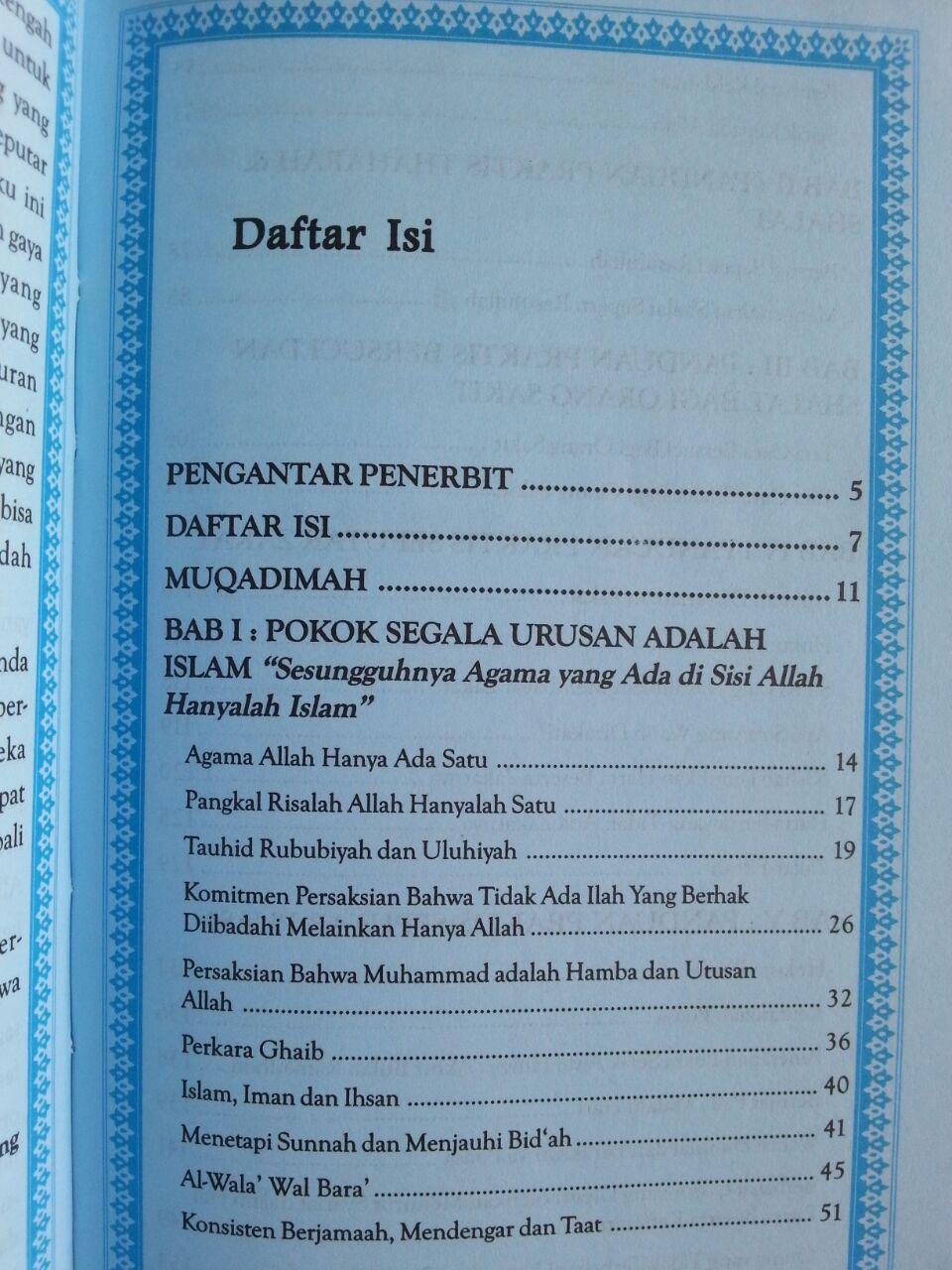 Buku Panduan Praktis Ibadah Sehari-Hari isi