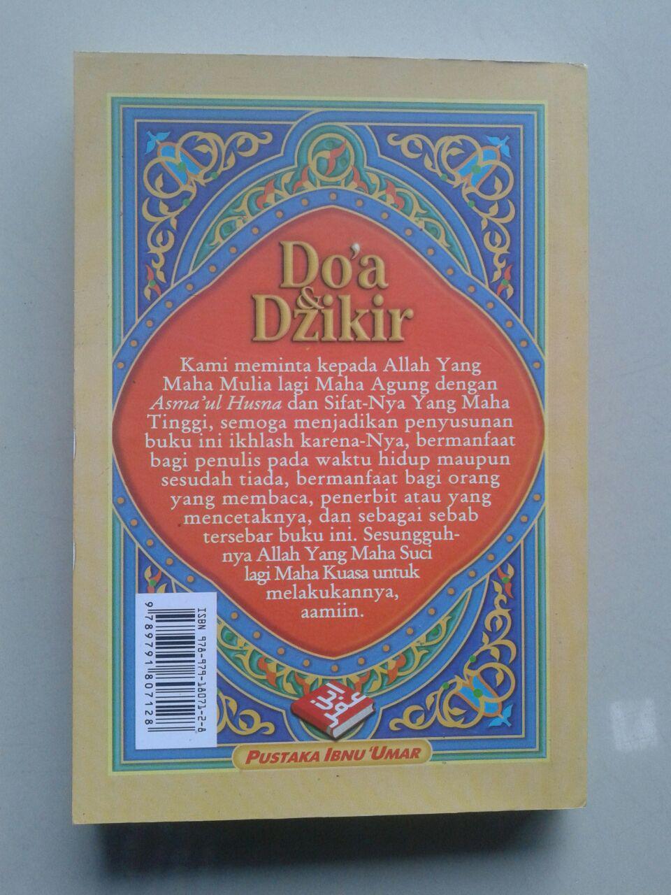 Buku Doa & Dzikir Berdasarkan al-Quran dan as-Sunnah cover
