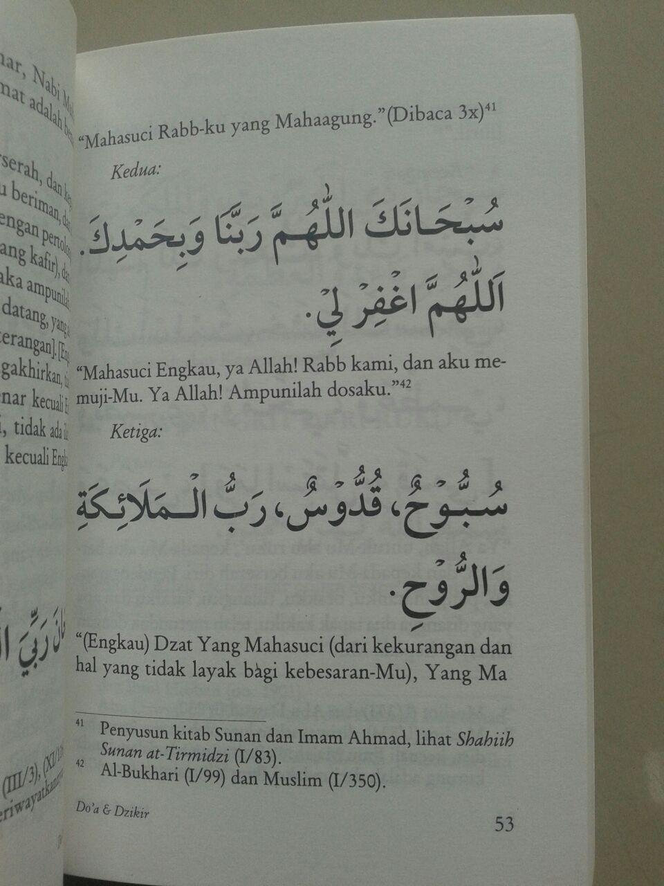 Buku Doa & Dzikir Berdasarkan al-Quran dan as-Sunnah isi 3