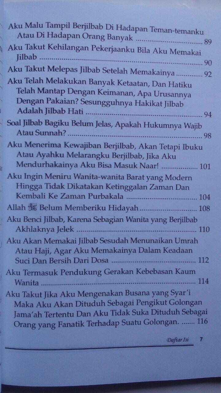 Buku Jilbab Tiada Lagi Alasan Untuk Tidak Mengenakannya 23,000 15% 19,550 isi 2