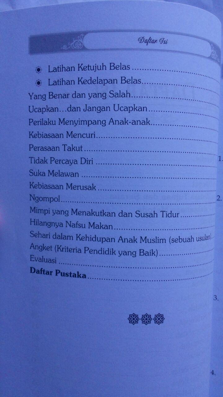 Buku Panduan Mendidik Anak Muslim Usia Pra Sekolah 20,000 15% 17,000 isi 2