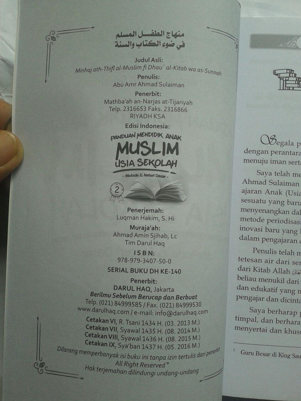 Buku Panduan Mendidik Anak Muslim Usia Sekolah 26,000 15% 22,100 isi 3