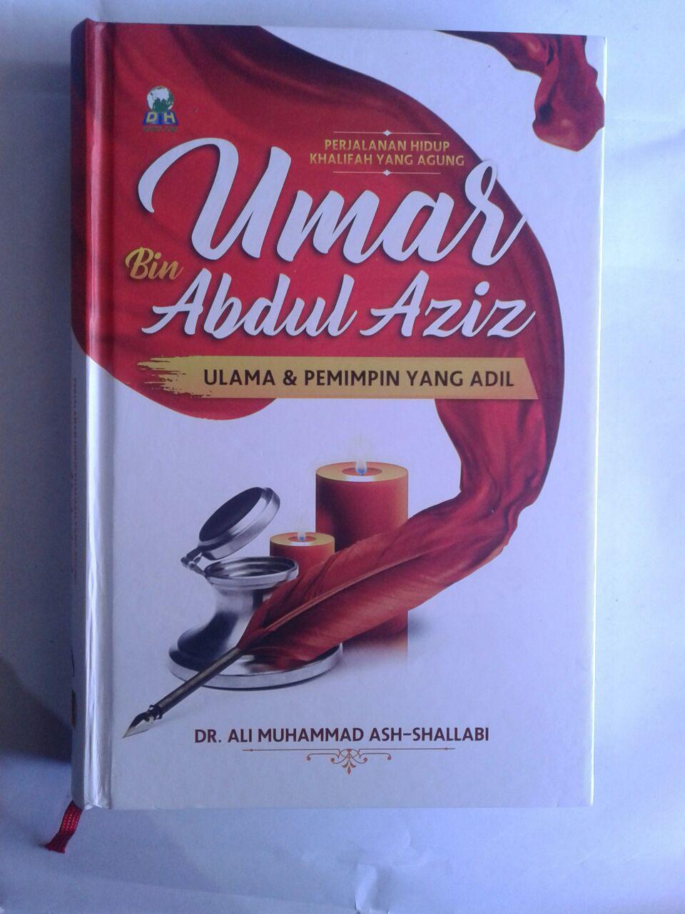 Buku Perjalanan Hidup Khalifah Yang Agung Umar Bin Abdul Aziz Ulama Dan Pemimpin Yang Adil cover 2
