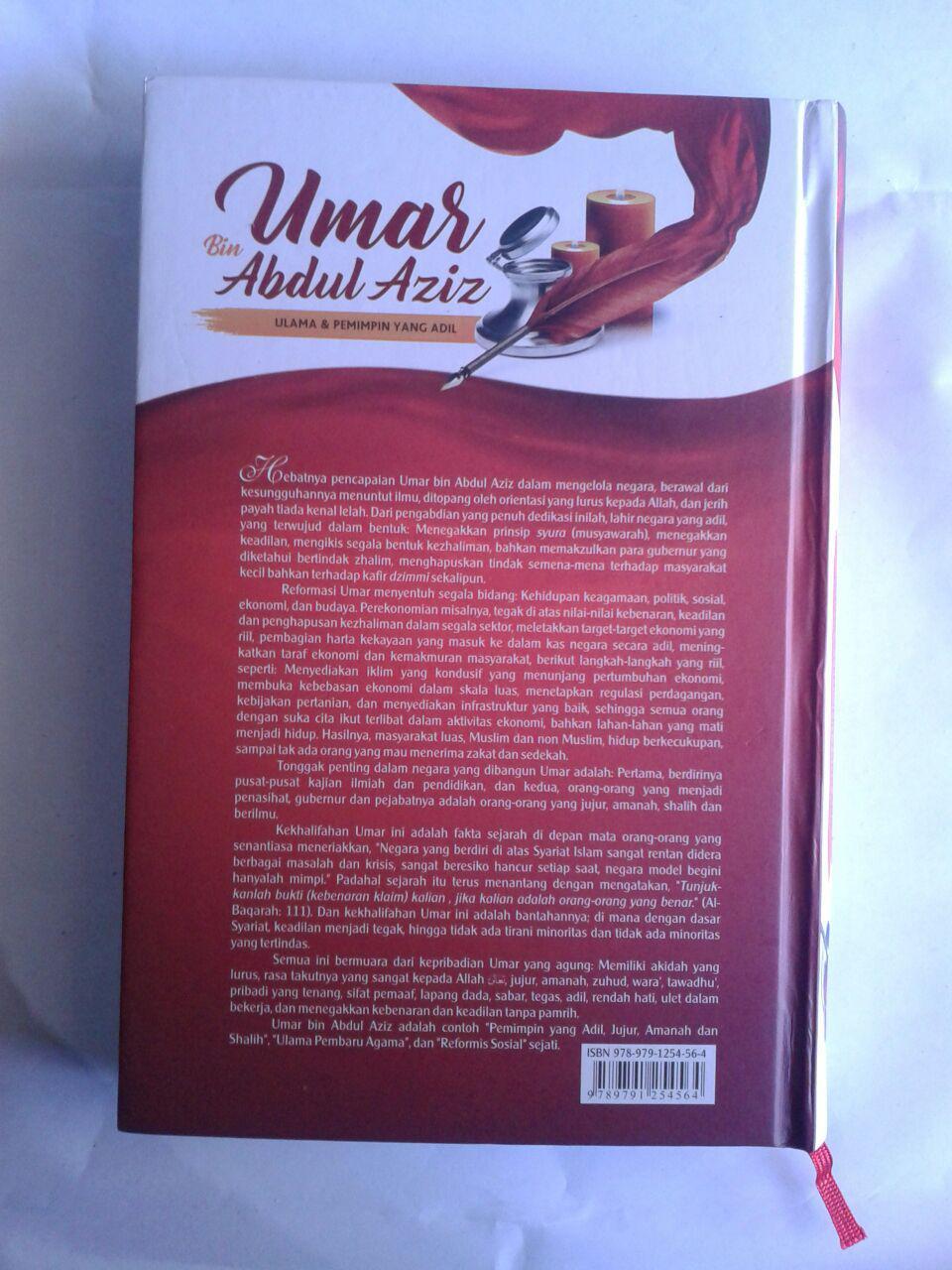 Buku Perjalanan Hidup Khalifah Yang Agung Umar Bin Abdul Aziz Ulama Dan Pemimpin Yang Adil cover