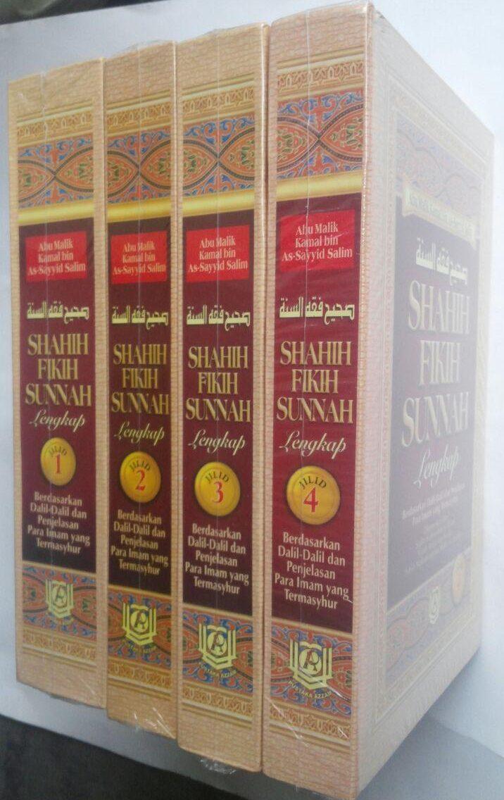 Buku Shahih Fikih Sunnah Pustaka Azzam Abu Malik Kamal bin As-Sayyid Salim cover 2