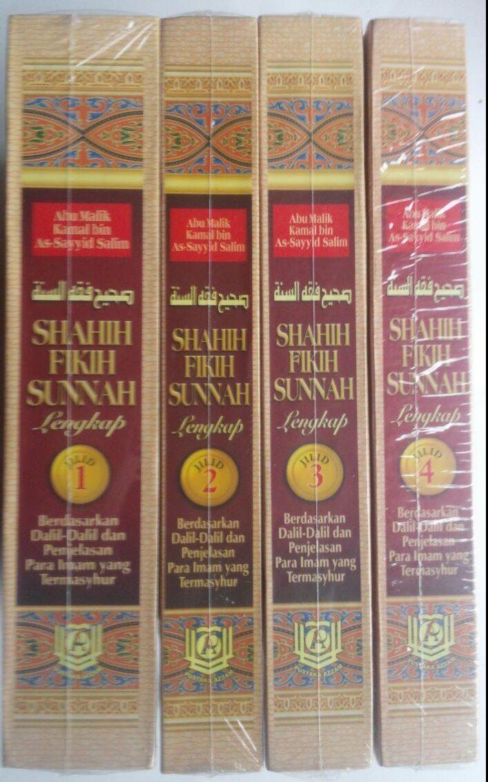 Buku Shahih Fikih Sunnah Pustaka Azzam Abu Malik Kamal bin As-Sayyid Salim cover 3