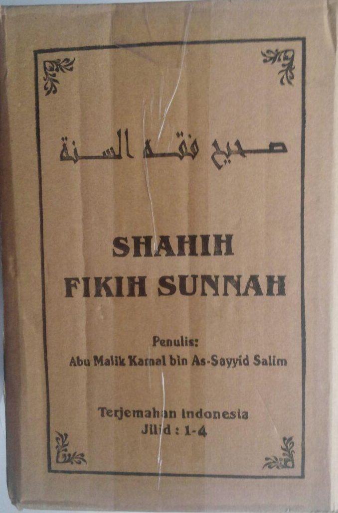 Buku Shahih Fikih Sunnah Pustaka Azzam Abu Malik Kamal bin As-Sayyid Salim cover 4