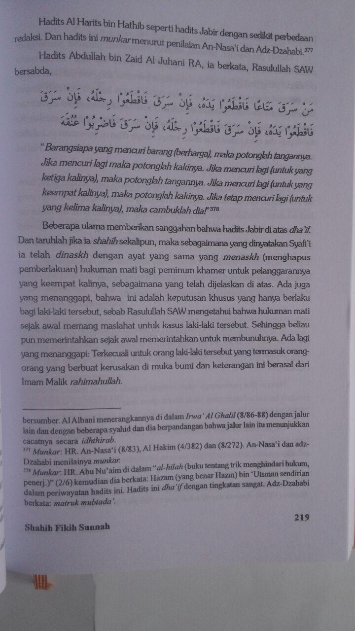 Buku Shahih Fikih Sunnah Pustaka Azzam Abu Malik Kamal bin As-Sayyid Salim isi 4