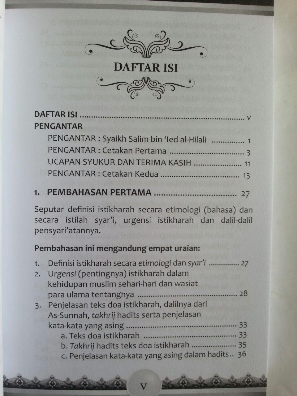 Buku Shalat Istikharah Solusi Kebimbangan Dalam Pilihan isi 2