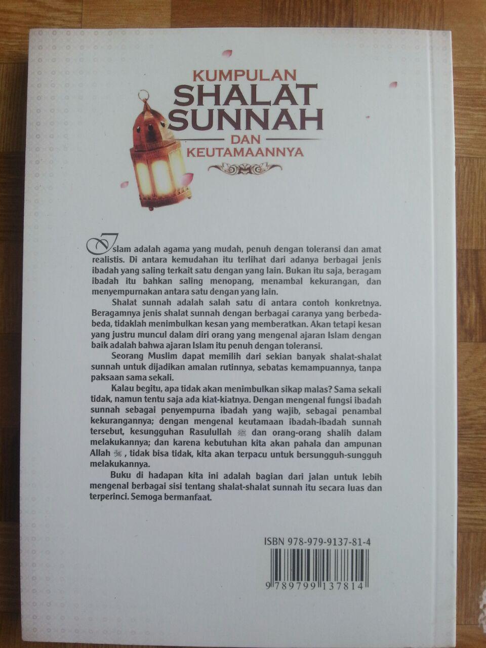 Buku Kumpulan Shalat Sunnah Dan Keutamaannya cover