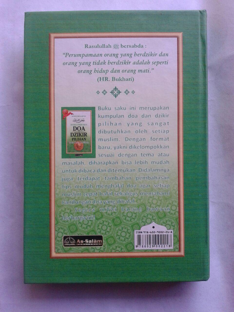 Buku Saku Hisnul Muslim Ensiklopedi Mini Doa & Dzikir Pilihan Cover 2