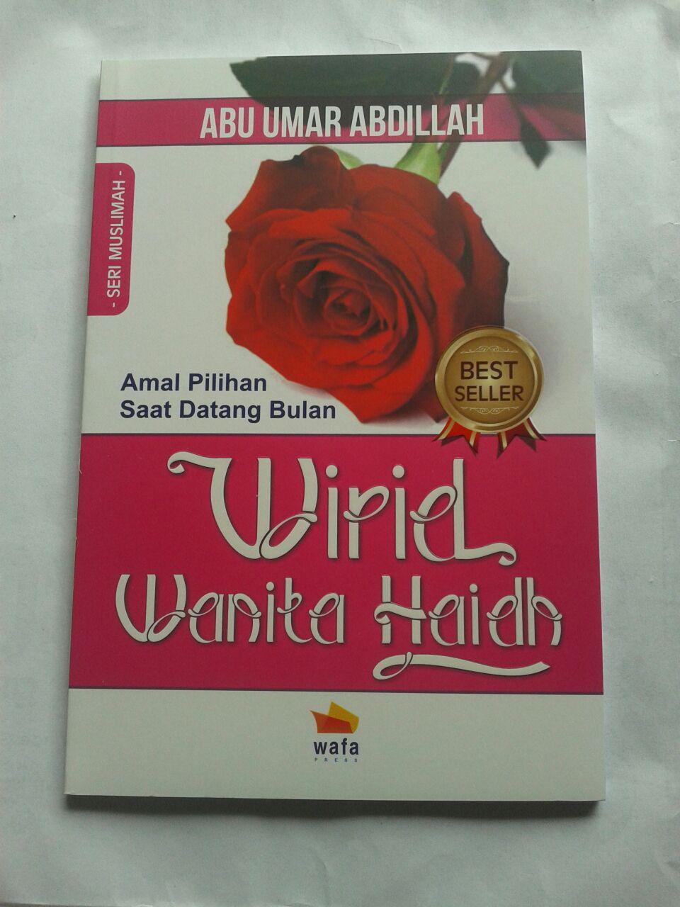 Buku Wirid Wanita Haidh Amal Pilihan Saat Datang Bulan cover