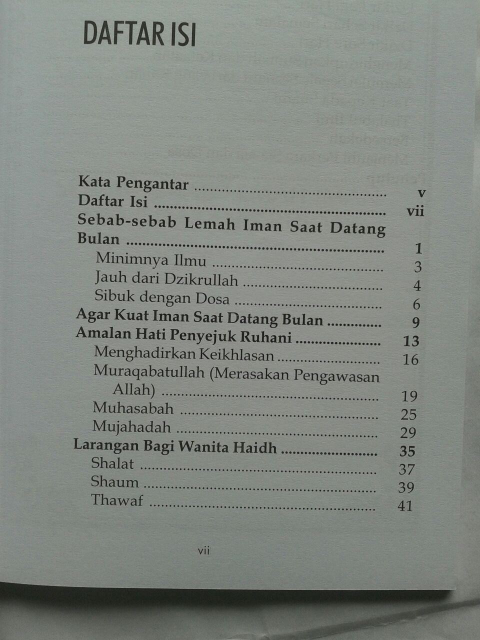Buku Wirid Wanita Haidh Amal Pilihan Saat Datang Bulan isi 2