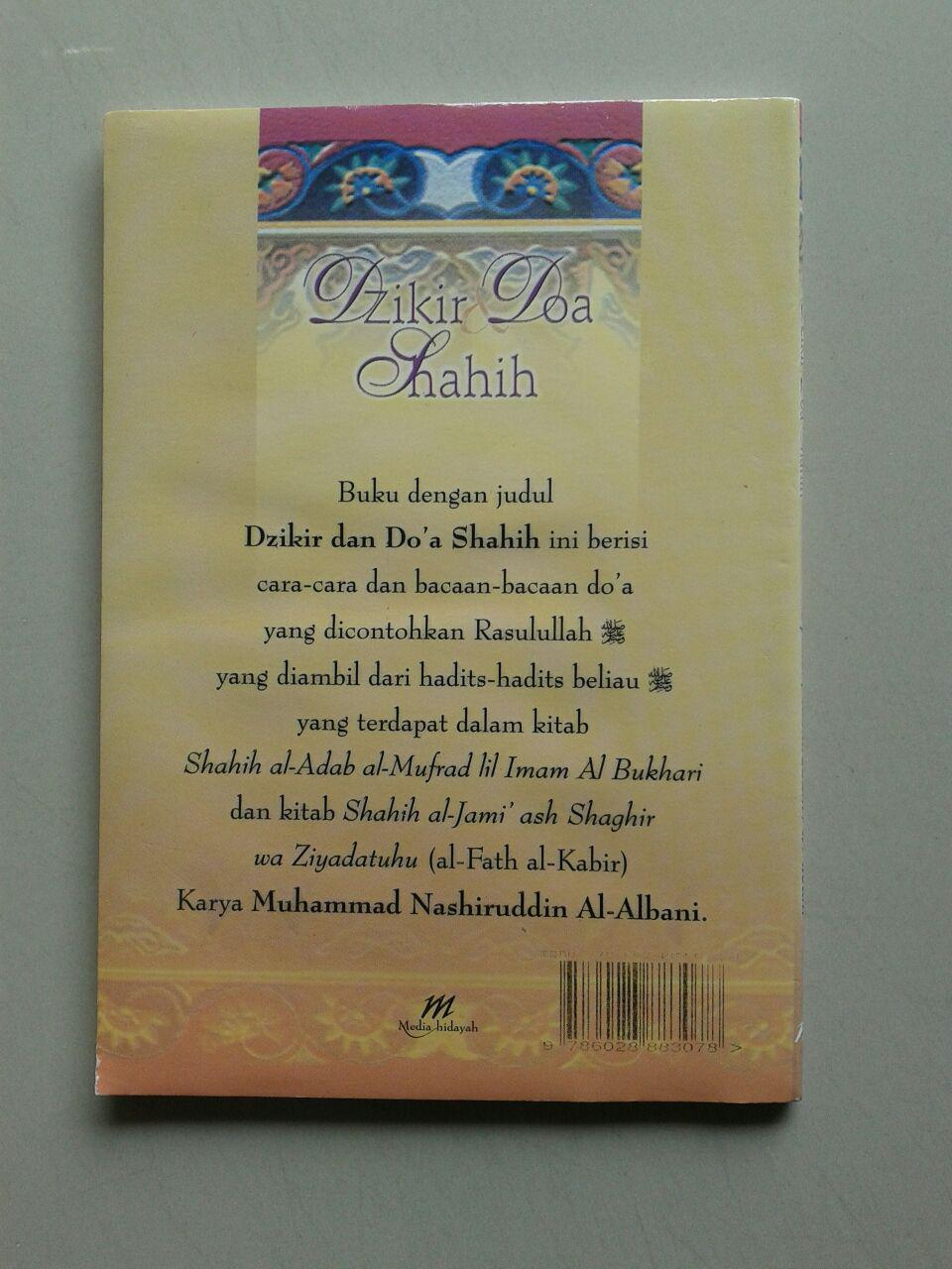 Buku Saku Dzikir Doa Shahih (dari Shahih Adabul Mufrad) cover