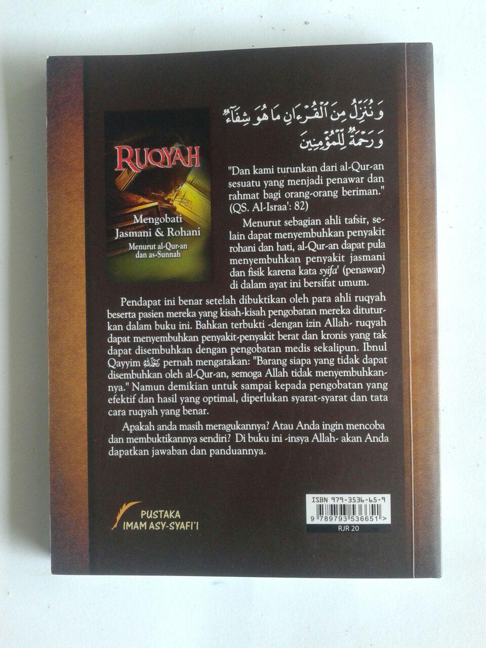 Buku Ruqyah Mengobati Jasmani & Rohani cover 2