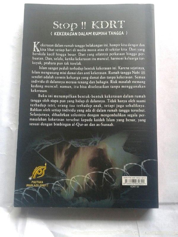 Buku Stop!! KDRT Membuang Prahara Kekerasan Di Rumah Tangga cover 2
